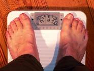 体重計に乗ってみる
